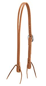 Weaver Leather 3/4in Split Ear Harness Leather Headstall