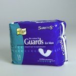 Kendall Surecare Guards For Men 6 1/2 X 13 by Kendall/Covidien (Surecare Male Guards)