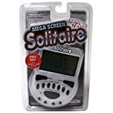 - John Hansen Mega Screen Solitaire Handheld Electronic Video Game