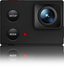 ISAW EDGE Wi-Fi 4K Action Camera Black by ISAW