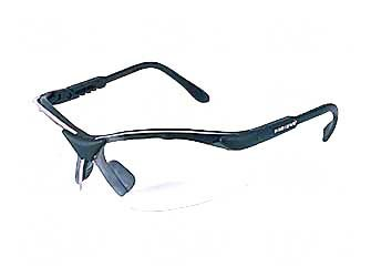 Radians Revelation Protective Shooting Glasses (Clear Lens/Black Frame)