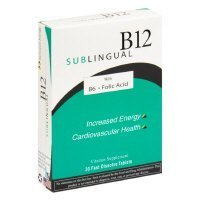 Heaven Sent Sublingual B12 W/B6 30 Tab by Heaven Sent
