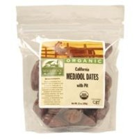 Woodstock Dates Medjool with Pit Organic, 12 oz (Dates Woodstock)