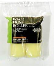 Shur-Line2006687 3-Inch Foam Trim Roller Refill ()