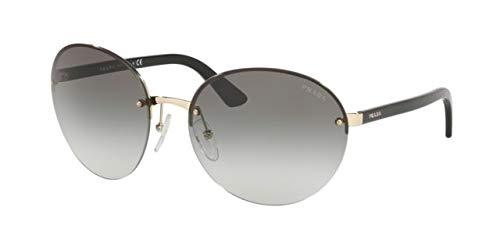 Prada 0PR 68VS Gafas de sol, Pale Gold, 61 para Mujer ...