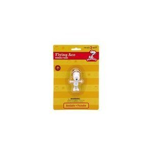 Snoopy Bendable Figure (Peanuts Snoopy Flying Ace Bendable Figure)