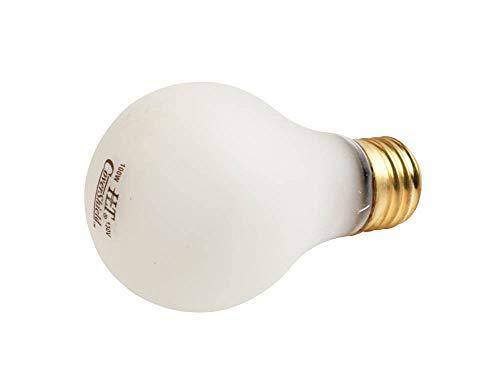 Halco 100W 130V A19 Rough Service Safety Coated Bulb, E26 Base