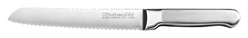 KitchenAid KKFSS8BRST Classic Forged Series Brushed Serrated Bread Knife, Stainless Steel, 8