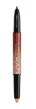 NYX Ombre Lipstick Duo- Ginger & Nutmeg OLD01 (Nyx Burgundy Lip Liner compare prices)