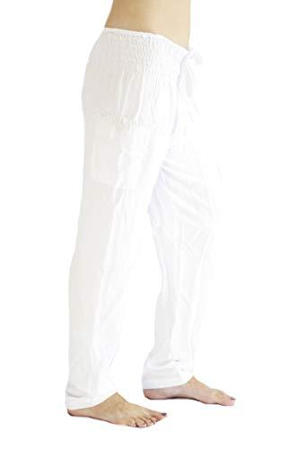 (PIYOGA Women's Petite Yoga Pants, Straight Leg (US 0-10) - Kundalini White)