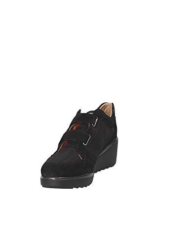 110118 Stonefly Velcro 39 Nero Scarpa Donna rrPqxEdwaT