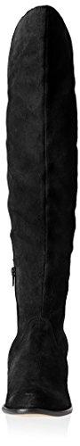 The Suede Scotland Women's Como Corso Boot Knee Over Black xqUSzR