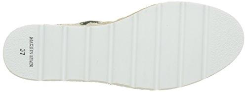 Unisex Verde Geometrico Blanco Yute Deporte Adulto de Zapatillas Victoria Basket Plataforma Uq00va