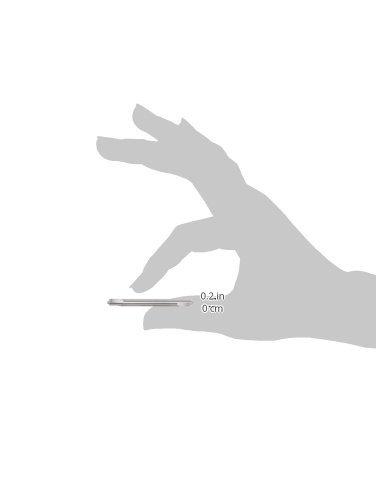 0.060 Minor Diameter Solid Carbide Tool 2 Overall Length 0.0500 Radius 3//16 Shank Diameter Micro 100 CRE-187-050 3 Flute Corner Rounding Double End Mill