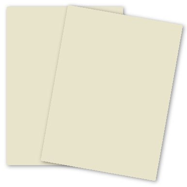 Domtar Colors - Earthchoice CREAM Opaque Text - 11 x 17 Paper - 28/70 Text - 500 PK by Domtar Colors