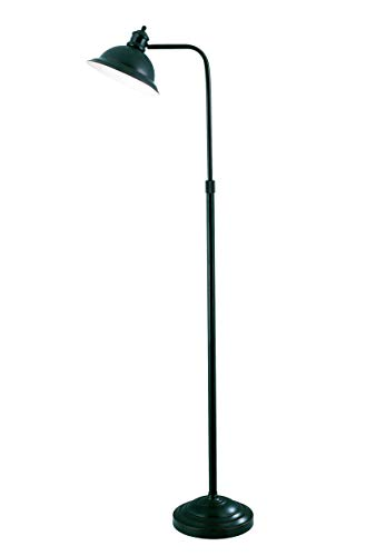 (Lite Source LS-8550AGED/CP Minuteman Floor Lamp with Aged Copper Metal Shade, Aged Copper)