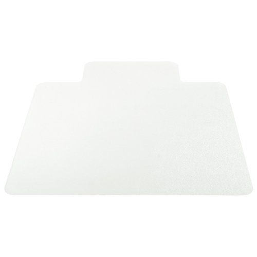 Deflecto EconoMat Clear Chair Mat, Hard Floor Use, Non Studded, 36