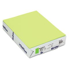 (3 Pack Value Bundle) MOW101261 BriteHue Multipurpose Colored Paper, 20lb, 8 1/2 x 11, Ultra Lime, 500 Shts/Rm by Unknown