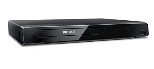 Philips 4K UHD Upconversion Blu-Ray DVD Player BDP3502/F7 (Does NOT Play 4K BLU-Rays / ONLY UPCONVERTS Regular BLU-Rays to 4K) (Renewed)