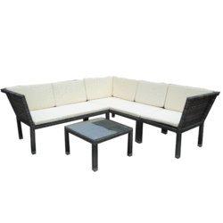 Salon Lotus 3 Assises Table Basse Amazon Fr Jardin
