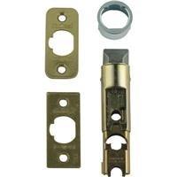 (Kwikset 81825-001 Polished Brass Adjustable Entry Door Latch)