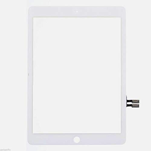 BESTeck White Digitizer Repair Replacement Kit for iPad 9.7'' (2018) iPad 6 6th Gen A1893 A1954 Touch Screen Digitizer with Pre-installed Adhesive and Tools by BESTeck