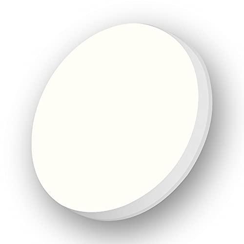 Led Plafondlamp 18w 1800lm 4000k Natuurlijk Wit Rond 220mm Binnen Inbouw Plafondlamp Waterdicht Ip54 Aogled,180 Hoek…
