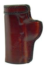 Don Hume Clip on Holster Right Hand Brown 3.5' Colt Officer