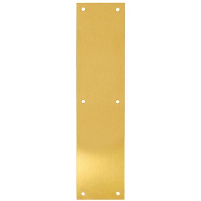 Tell Manufacturing DT100071 Push Plate, 3.5 x 15-In. - Quantity 1