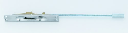 (Ives FB45826D Manual Metal Door 12-Inch Flush Bolt, Satin Chrome IVES )
