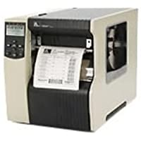 Zebra 170-801-00200 170Xi4 Tabletop Label Printer, 300 DPI, Serial/Parallel/USB, Monochrome, 15.5 H x 13.31 W x 20.38 D, With Rewind and Peeler