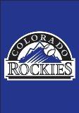 Colorado Rockies Mini Garden Flag