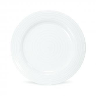 Portmeirion Sophie White 9'' Luncheon Plate