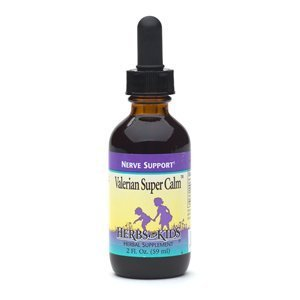 Herbs for Kids Valerian Super Calm Herbal Supplement Drops 2 fl oz (59 ml) by AB