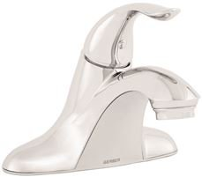 Gerber Plumbing G0040024 Viper Lavatory Faucet with Metal Touch Down Drain, One Handle, 1.2 GPM, Chrome, 5.125