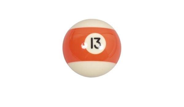 Bola de billar americano suelta 57,2mm no 13: Amazon.es: Deportes y aire libre