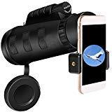 Aopet Monocular Telescope 10X High Power Shockproof Waterproof Fogproof HD Phone Mount & Tripod for Wildlife Travel Camping...