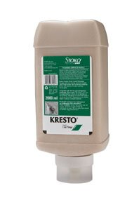 Stockhausen Stoko Stockhausen 87044 Kresto Hand Cleaner, 2000ml One-pump Cartridge Case of 6 by Stockhausen Stoko (Image #1)