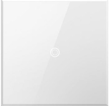 Legrand Adorne ASTH1532W2 Touch White Wall Light Switch - Three-Way (Switches Adorne Light)