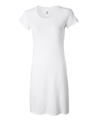 Bella Ladies' Cory Vintage T-Shirt Dress at Amazon Women's ...