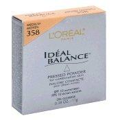 Loreal Ideal Balance Pressed Powder Medium 358 -
