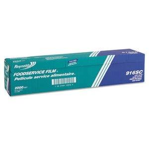 Roll Wide 24 Film (Reynolds 916 Wrap PVC Film Roll w/Cutter Box, 24