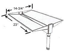 Phoenix Cast Aluminum Drip Tray - SDSSDT by PHOENIX VITAL LIFE