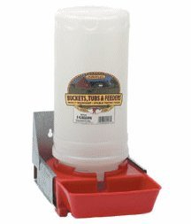 LITTLE GIANT 084369000048 BPW4 Baby Pig Waterer, Red