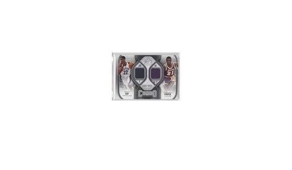 793627b39 Amazon.com  Rudy Gay  Michael Cooper  308 499 (Basketball Card) 2009-10 SP  Game Used - Combo Materials  CM-CG  Collectibles   Fine Art