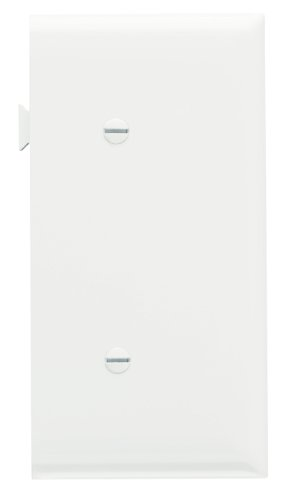 Legrand-Pass & Seymour PJSE14WCC10 Sectional Thermoplastic Wall Plate Junior Jumbo Blank End Section, White ()