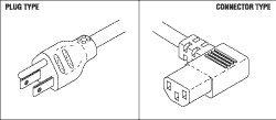 Power Cord for Midmark - Ritter RPC291 ()