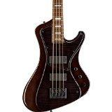 ESP E-II Stream - See Thru Black Flamed Maple Electric Bass