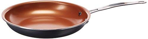 "California Home Goods Non-Stick CermiTech Frying Pan, 9.5"" Copper"