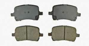 - AMS Automotive 201-1160 Ceramic Brake Pad, 4 Pack